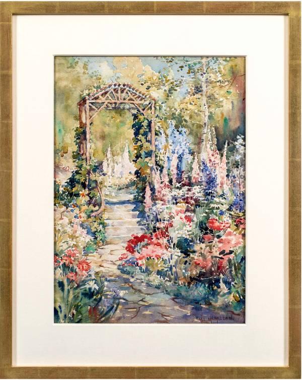 Mary Lane McMillan The Garden Path