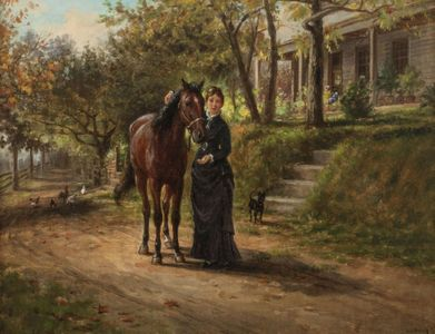 Edward Lamson Henry Trusted Companions Unframed