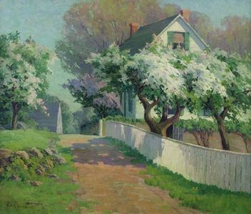 Alice Roney Hardwick Spring Blossoms Unframed