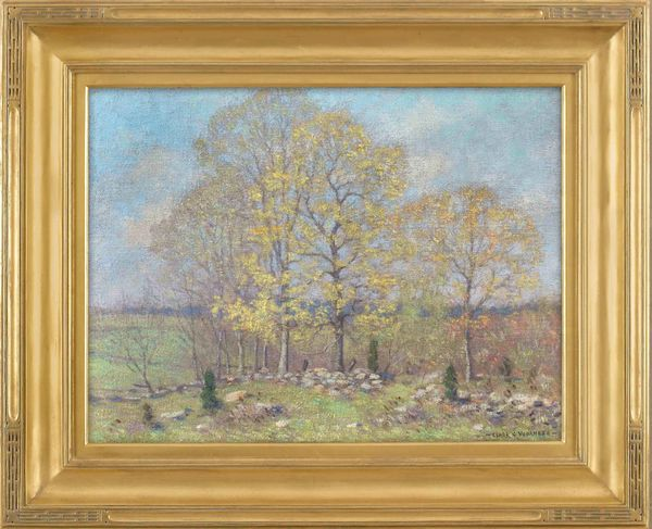 Clark Greenwood Voorhees Early Spring Landscape