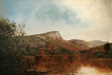 IDA H. STEBBINS View of South Pond, New York Unframed