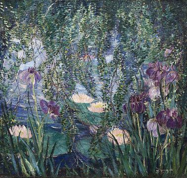 Dorothea Litzinger The Lily Pond unframed