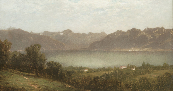 John William Casilear Mountain Lake Unframed