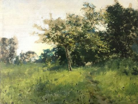 Unknown Study of Spring Unframed