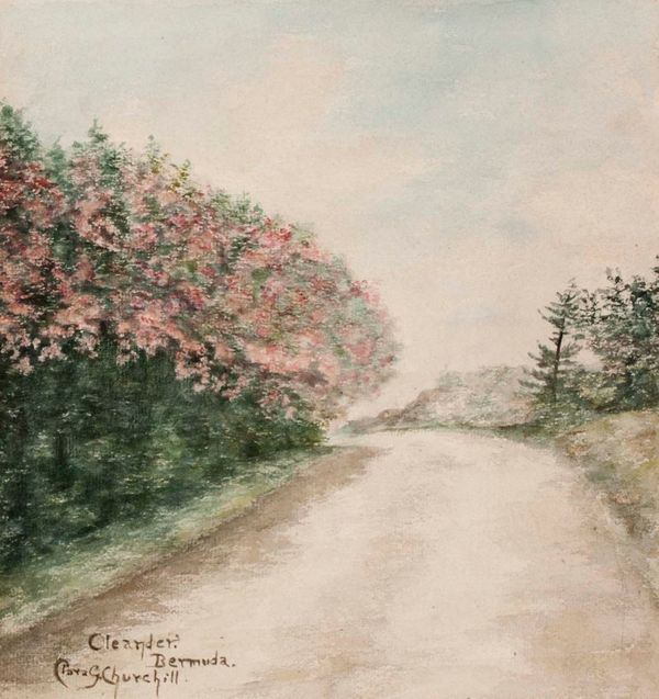 Clara G. Churchill (Granddaughter of Winston Churchill) Oleander, Bermuda Unframed