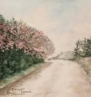 Clara G. Churchill, Oleander, Bermuda Unframed