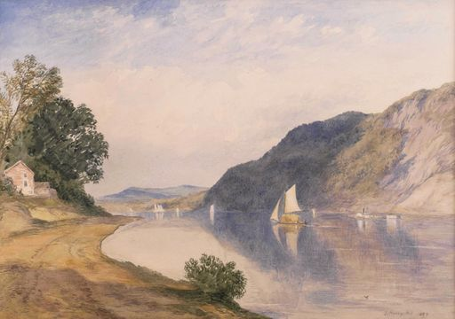 John Henry Hill  In the Hudson Highlands Unframed