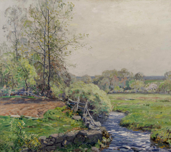 Wilson Irvine Spring in Old Lyme, CT Unframed