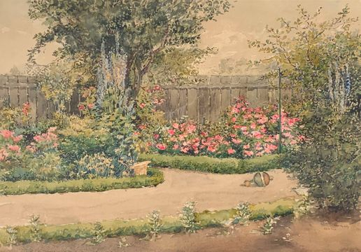 Edith Page June Rose Garden, 1889