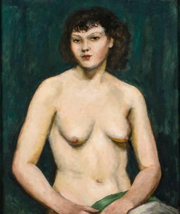 Walter Kuhn Miss R.  unframed