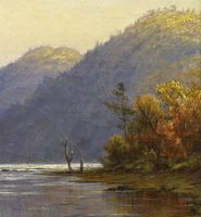 Kate Newhall Autumn on the Black Brook, 1876