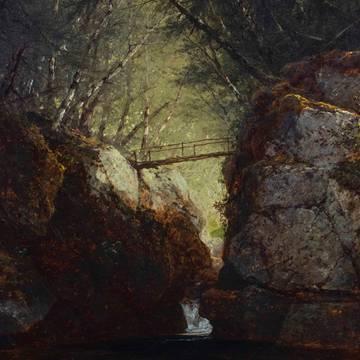 John Frederick Kensett Bash-Bish Falls unframed