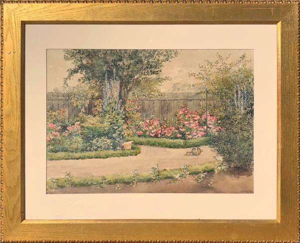 Edith Page June Rose Garden, 1889