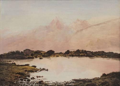 Frankenstein Milky Lake Alps Unframed