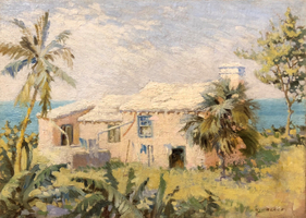 Norman Irving Black A Seaside Cottage, Bermuda