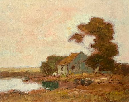 Frederick Kost Home in the Meadows unframed