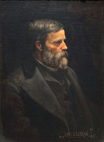 Charles Courtney Curran Portrait of Ulysses T. Curran (father of the artist), 1885