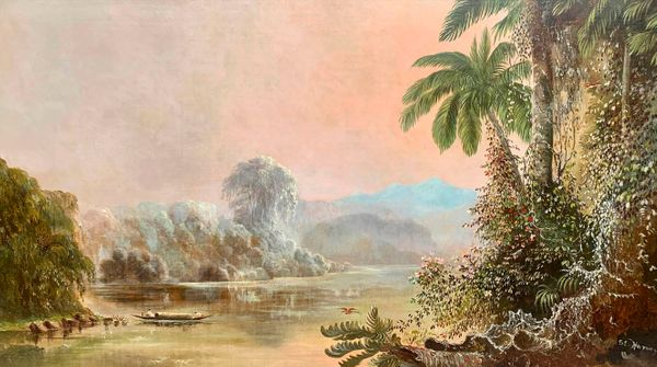 Sarah E. Harvey Tropical Landscape