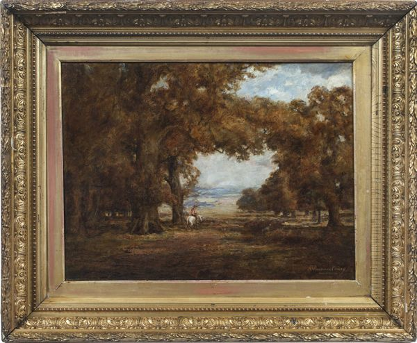 REBECCA C. BUCHANAN Autumn Landscape Framed