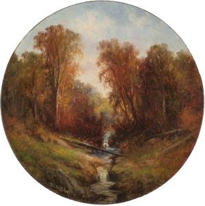 Wesley Webber  Autumn Stream