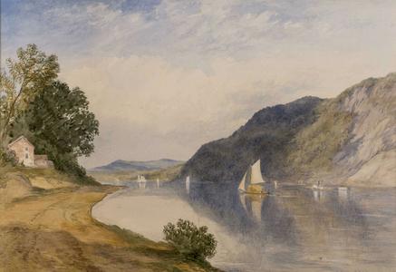 John Henry Hill  In the Hudson Highlands Framed