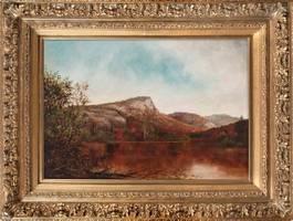 IDA H. STEBBINS View of South Pond, New York