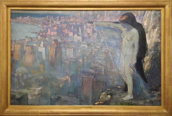 Edith Mitchell Prellwitz Overlooking New York