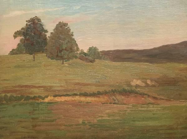Edith Marian Mann Summer Landscape unframed