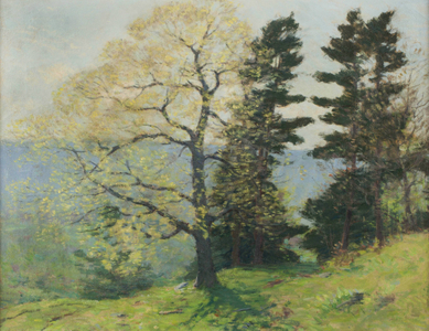 Clark Greenwood Voorhees Springtime in Connecticut Unframed