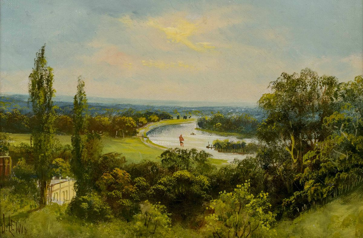 John Hardwicke Lewis View from Richmond Hill Unframed