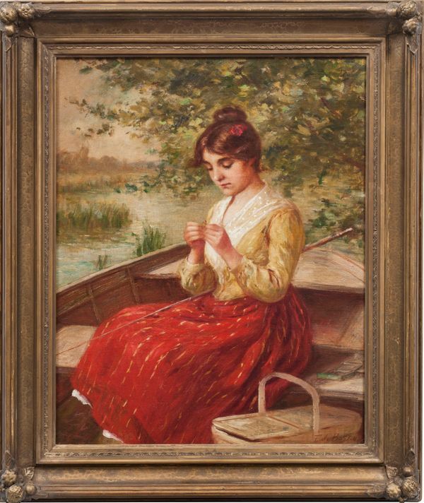 Boston, Frederick James-Casting the Rod-framed.jpg