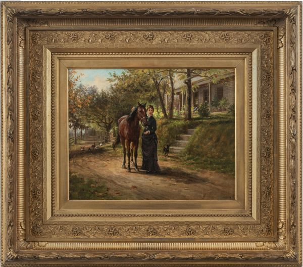 Edward Lamson Henry Trusted Companions Framed