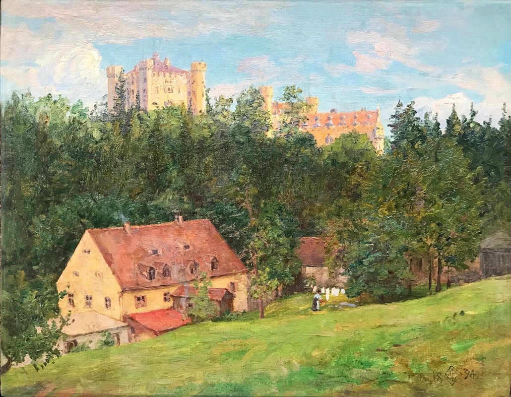 Walter Launt Palmer  Castle on the Hill Unframed