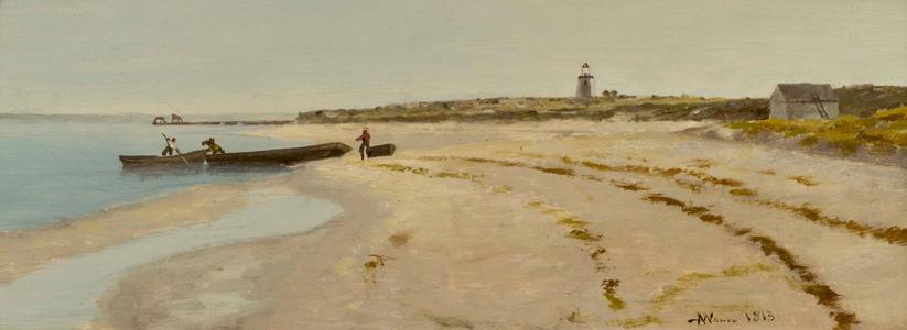 Andrew Warren  Northeastern Coastal Scene Unframed