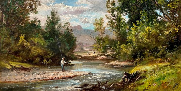 DeWitt Clinton Boutelle View In The White Mountains Moat Mountain, 1866