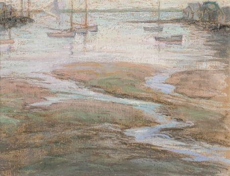Helen Reed Jones Whitney Nantucket Harbor unframed