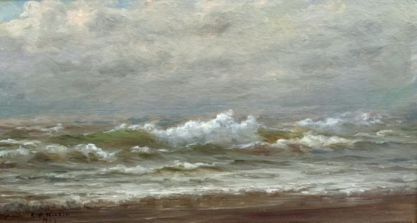 Catherine (Kate) White Newhall Stormy Seascape