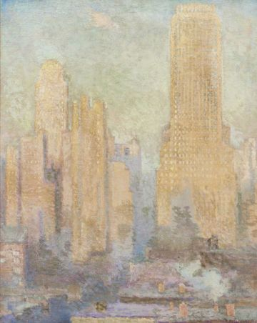 Edith Prellwitz  Chanin Building, Midtown Manhattan Unframed