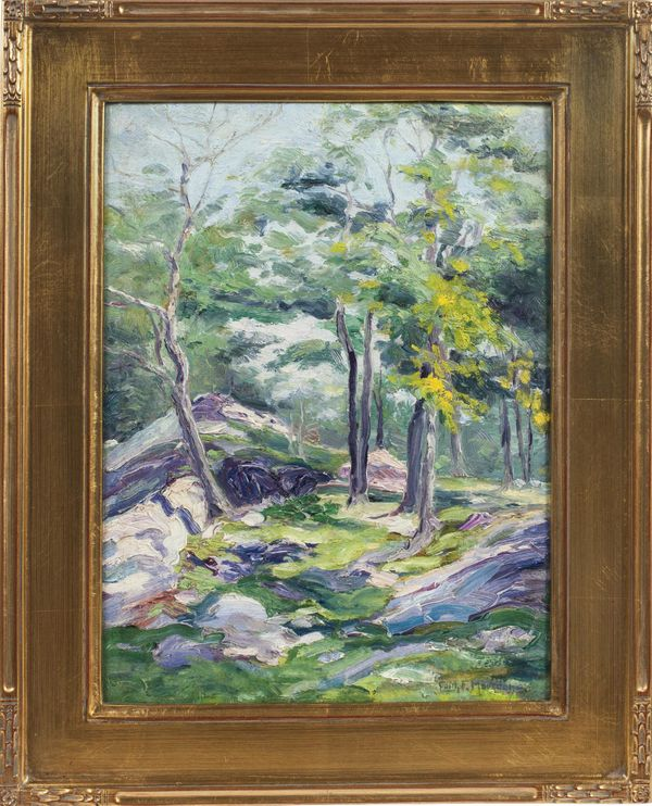 Edith Frances Marsden Springtime in the Forest Framed