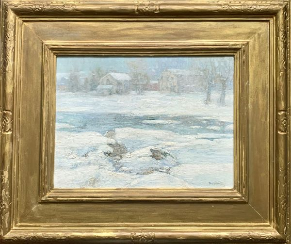 Paul King Duck Pond Winter