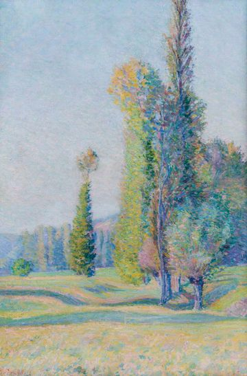 Josephine Miles Lewis  Giverny, France Unframed