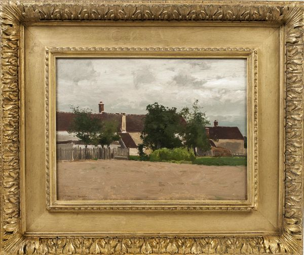 John Francis Murphy The Little Village Framed