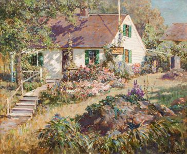Abbott Fuller Graves The Cottage Garden Unframed