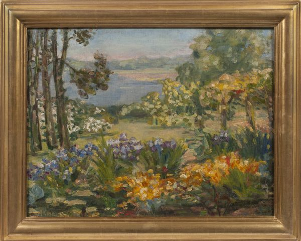 Agnes Louise Symmers The Artist's Garden, Rye, New York