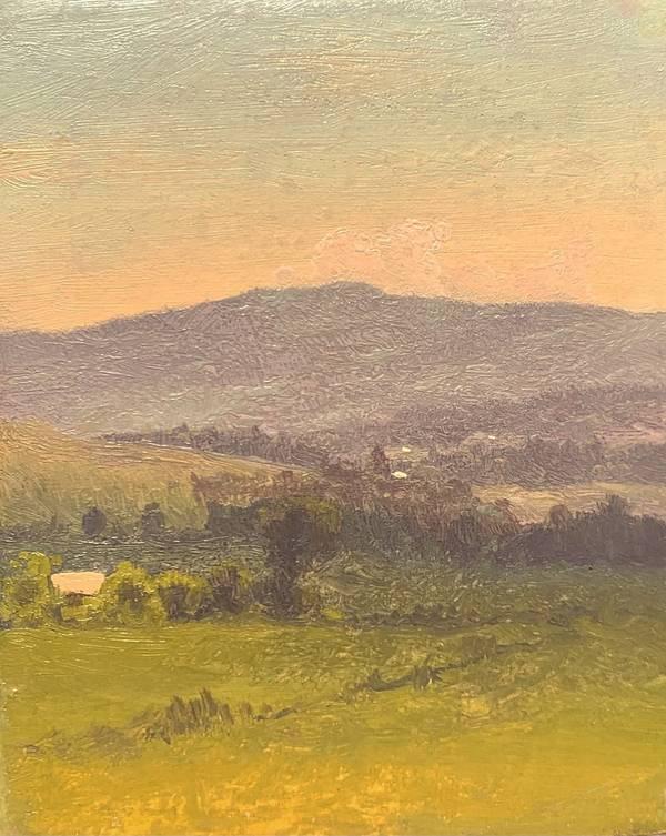 Walter Launt Palmer Sunset in the Catskills July 1872 unframed