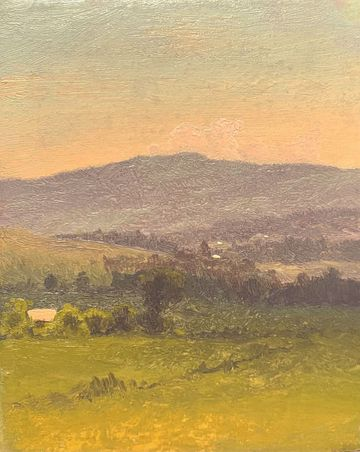 Walter Launt Palmer Sunset in the Catskills July 1872 unframed