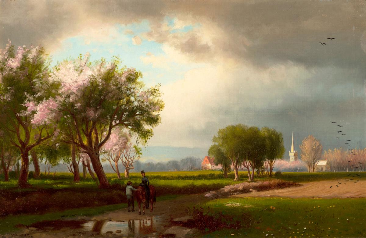 William Hart Springtime Blossoms Unframed