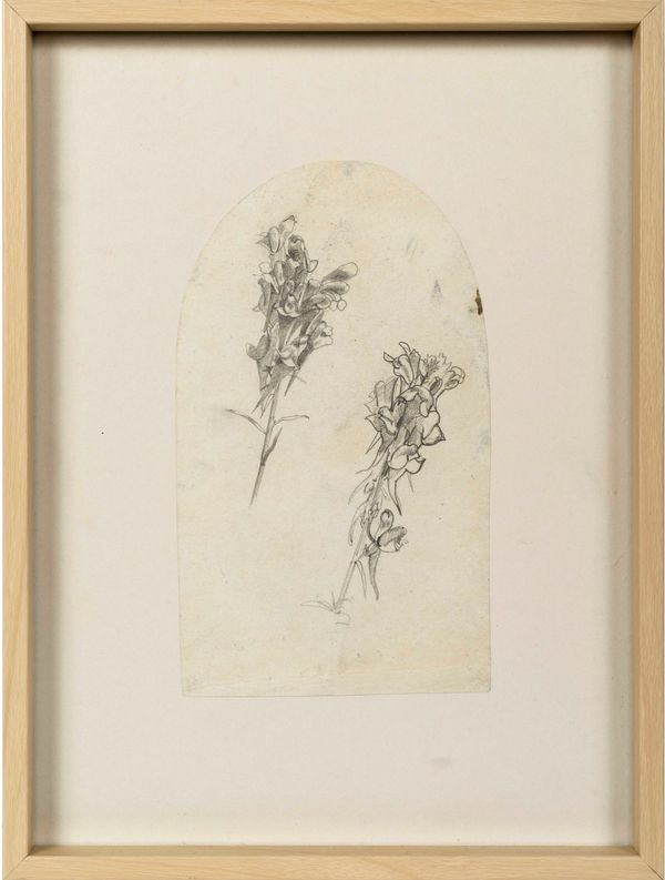 William Trost Richards Flower Sprigs Framed
