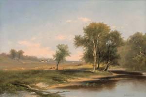 ELIZABETH H. REMINGTON Hudson Valley Landscape Unframed