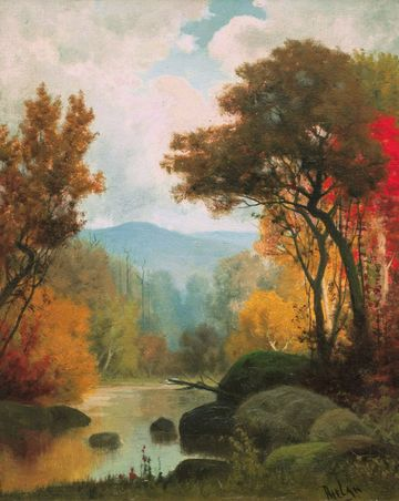 Charles Phelan Landscape in Autumn Unframed
